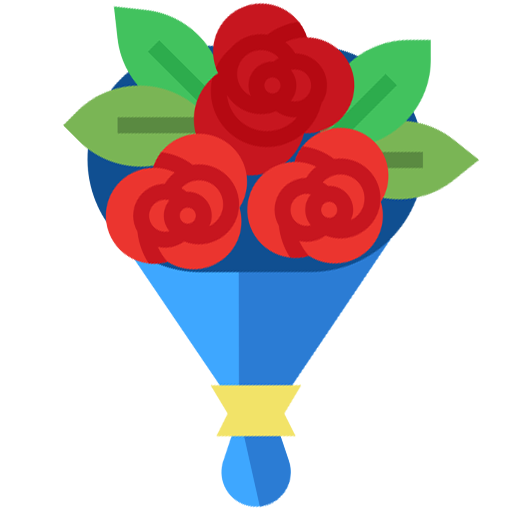 ilustrazione di fiori freschi a domicilio