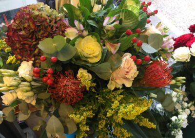 composizione floreale esotico